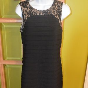 size 8 black dress,